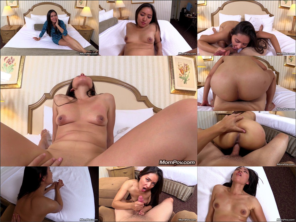 38 year old implied nude model tries porn 5