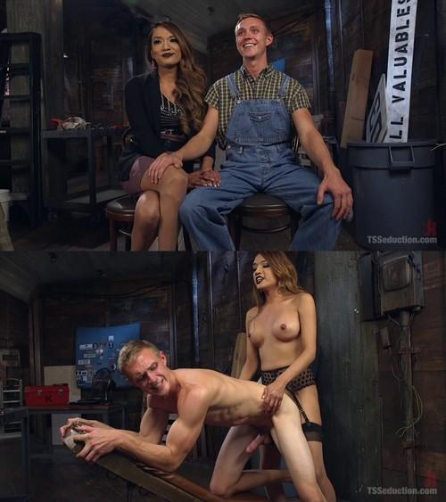 Jessica Fox, Zane Anders - A Crafty TS Fucking! [HD 720p] (TsSeduction)