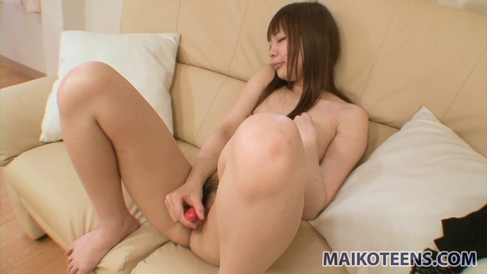 Naked teens with young members
