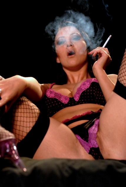 Amber Leigh smoking corks masturbation