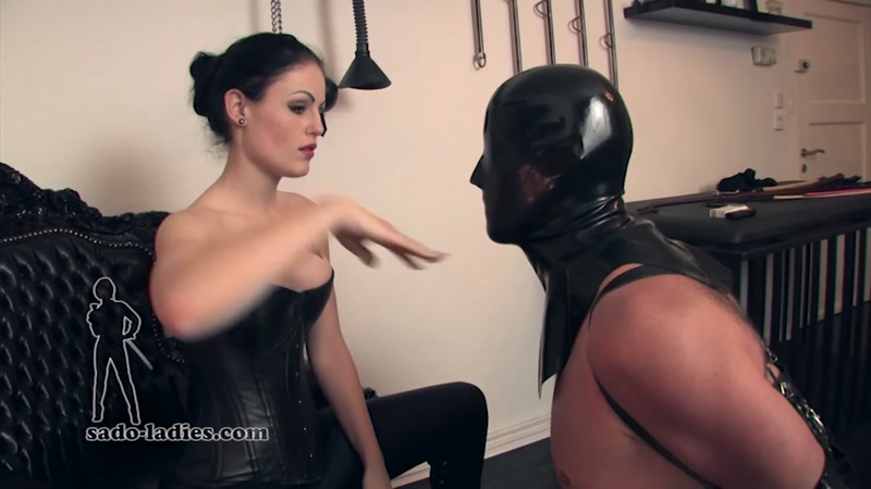 Female domination greeting