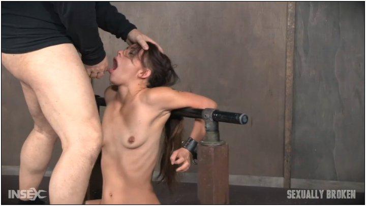 Wake forced deepthroat dd touch, stimulating